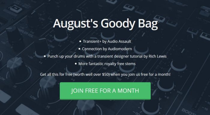 Track Spark August Goody Bag