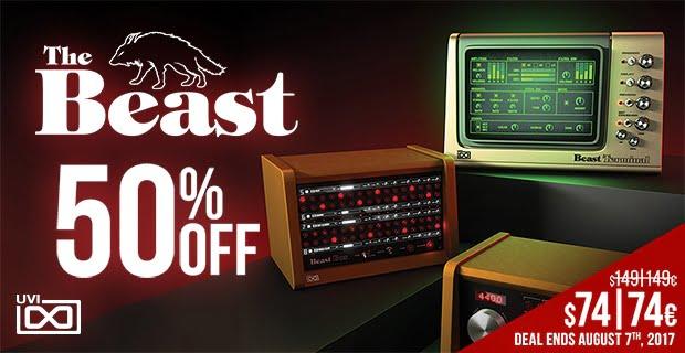 UVI The Beast sale