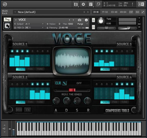 VST Buzz Composer Tools ABC Bundle Voce