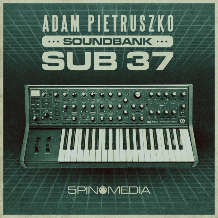 5Pin Media Adam Pietruszko Moog Sub 37 Soundbank