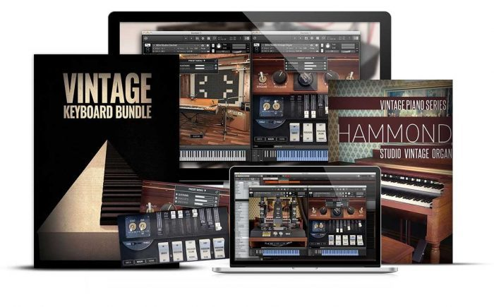 8Dio Hammond Vintage Organ & Keyboard Bundle