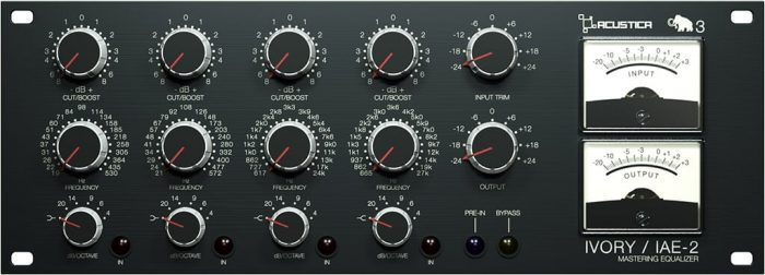 Acustica Audio Ivory3 EQ