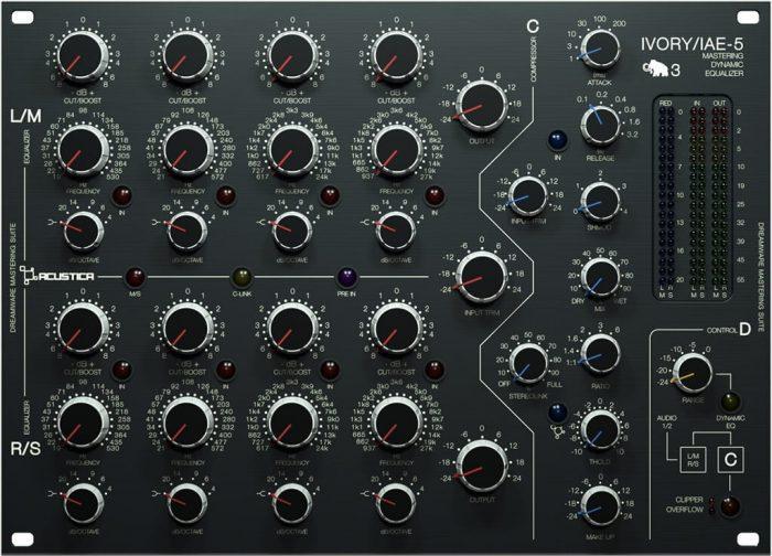 Acustica Audio Ivory3 EQ DYN II