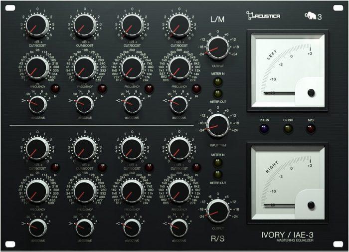 Acustica Audio Ivory3 EQ STEREO