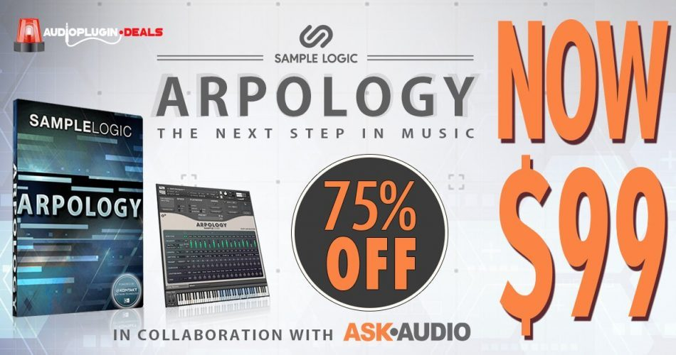 Audio Plugin Deals ARPOLOGY sale
