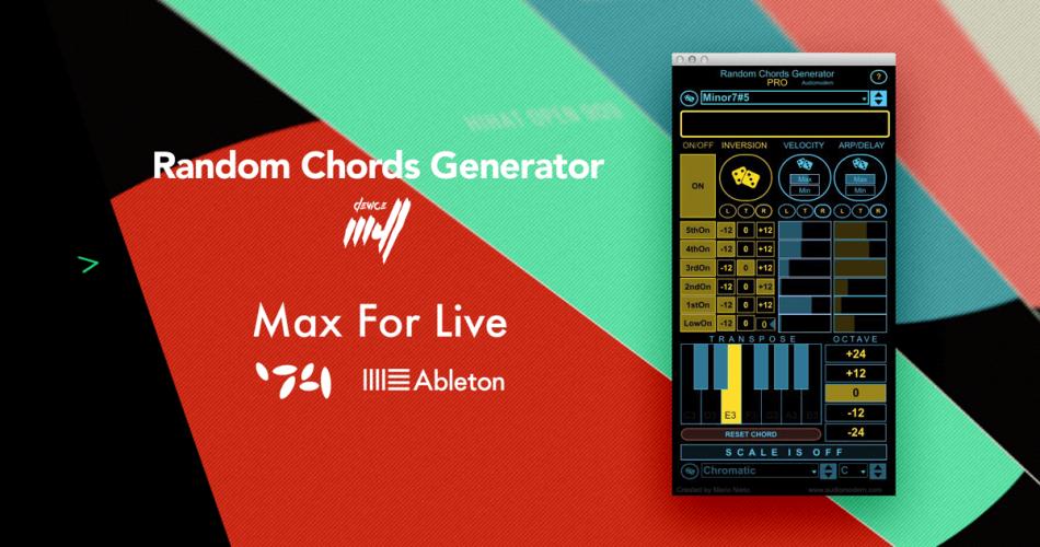 Audiomodern Random Chords Generator PRO feat