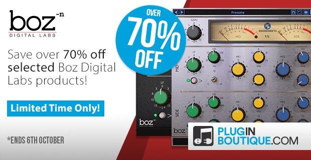 Boz Digital Labs sale