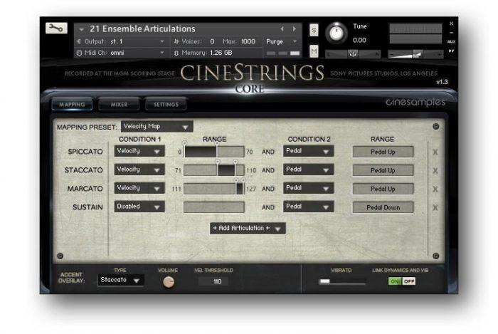 Cinesamples CineStrings CORE 1.3