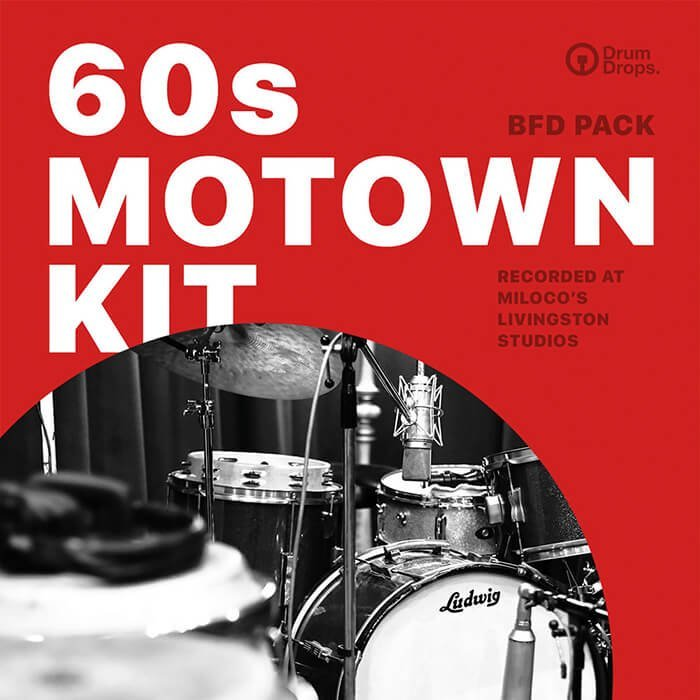 Drumdrops 60s Motown Kit BFD Pack