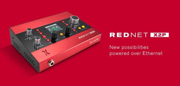 Focusrite RedNet X2P
