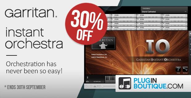 Garritan Instant Orchestra sale