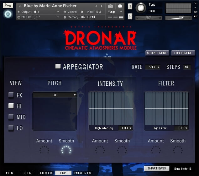 Gothic Instruments Dronar Cinematic Atmospheres Arp