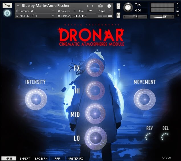 Gothic Instruments Dronar Cinematic Atmospheres Main