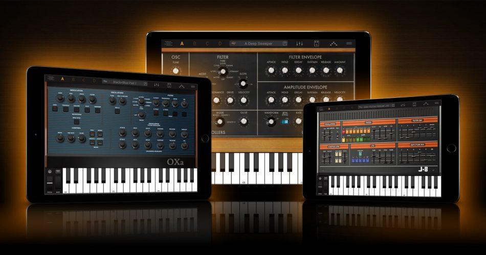 IK Multimedia Syntronik iOS feat