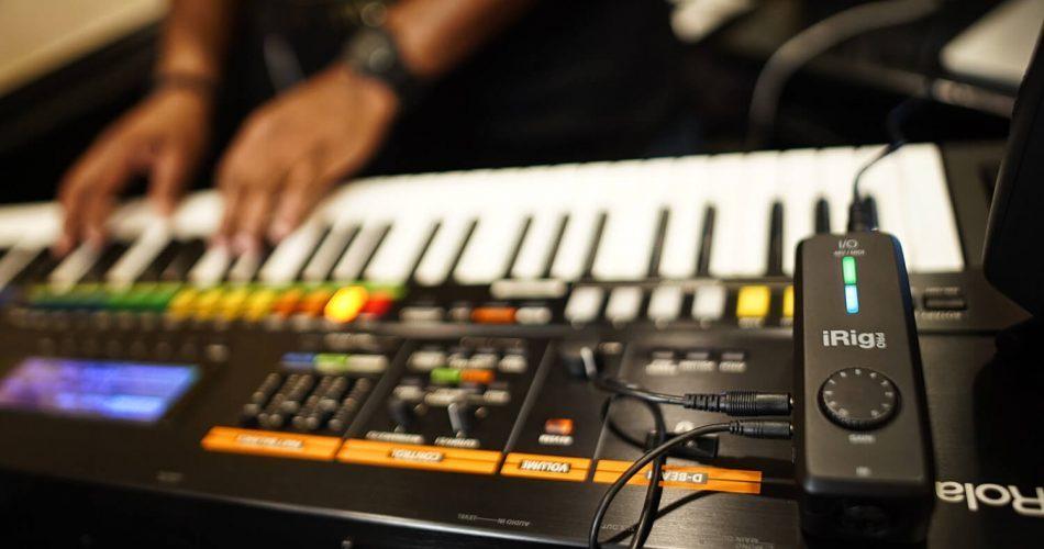 IK Multimedia iRig Pro I/O audio interface