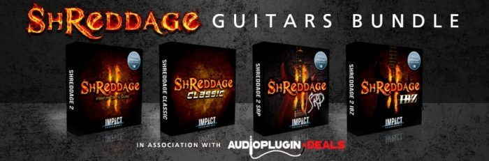 Impact Soundworks Shreddag Guitars Bundle