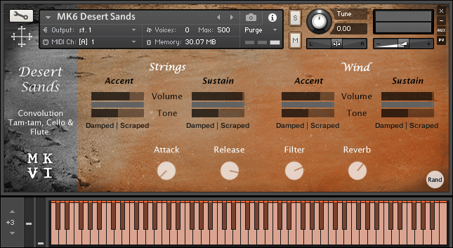 MkVI Audio Desert Sands