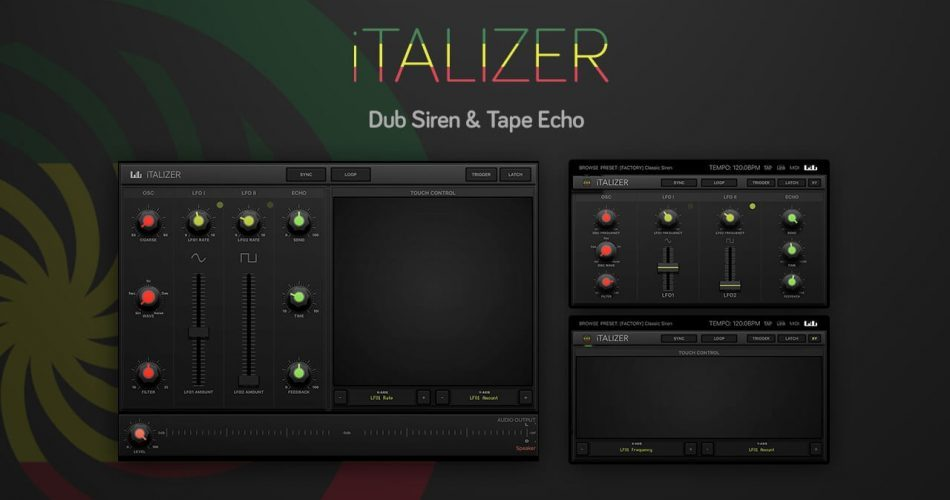 Numerical Audio Italizer Dub Siren & Tape Echo feat
