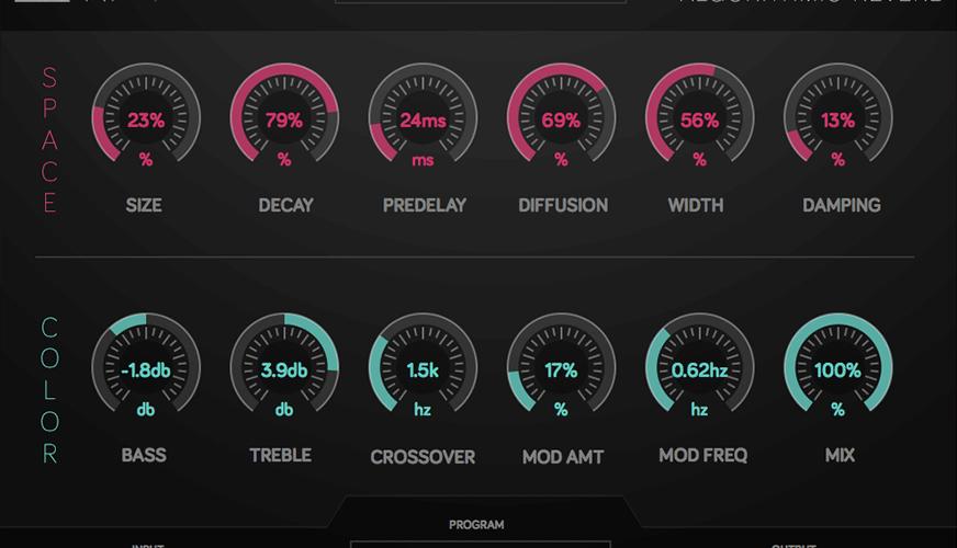 Numerical Audio RF 1 Reverb desktop