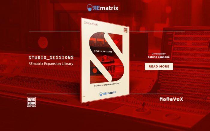 Overloud REmatrix Studio Sessions expansion