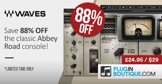 Plugin Boutique Waves REDD 88 OFF