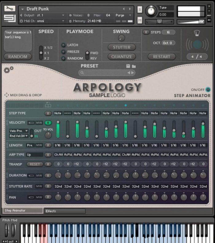 Sample Logic ARPOLOGY