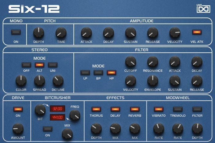UVI OB Legacy SIX 12