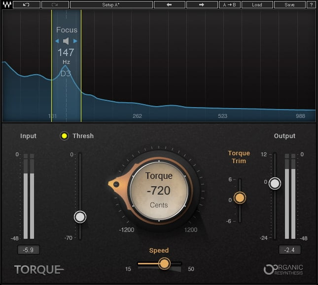 Waves Audio Toruqe