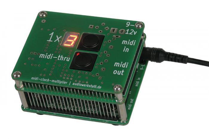 audiowerkstatt midi clock multiplier