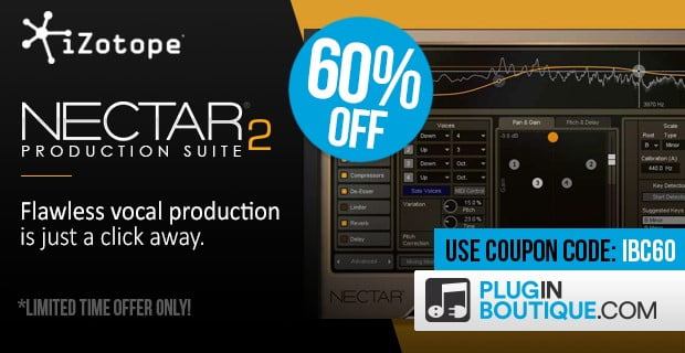 iZotope Nectar 2 deal