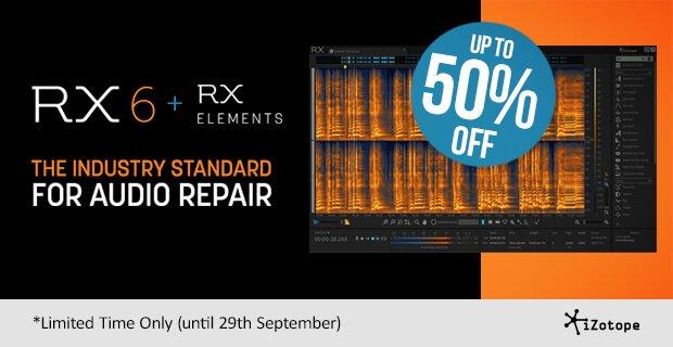 iZotope RX 6 Sale