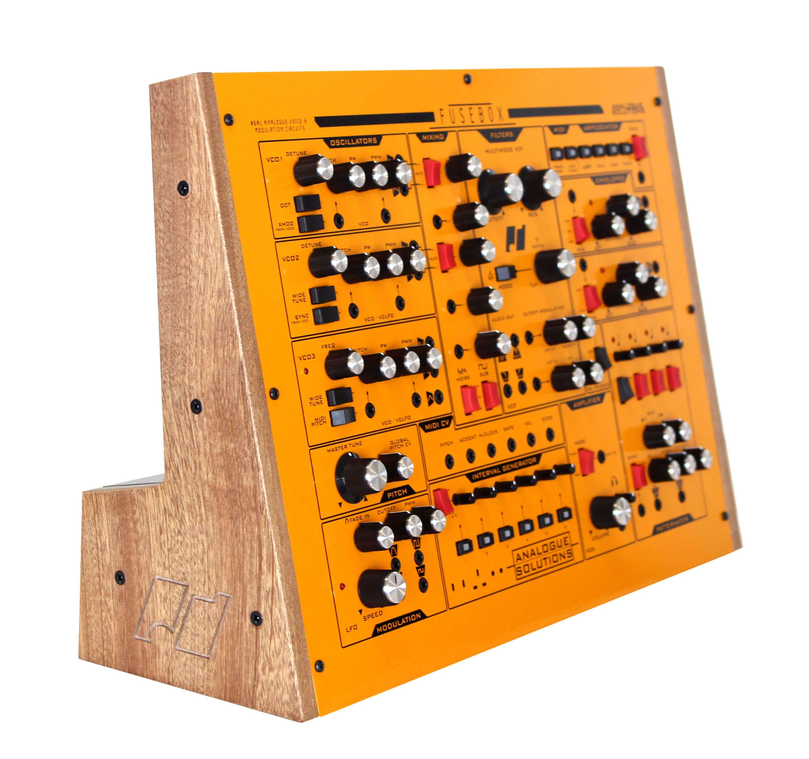 Analogue Solutions Fusebox Analog Monosynth Available For Preorder Generator Fuse Box