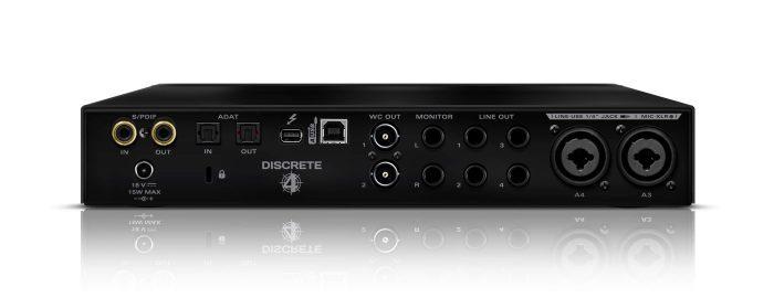 Antelope Audio Discrete 4 Back