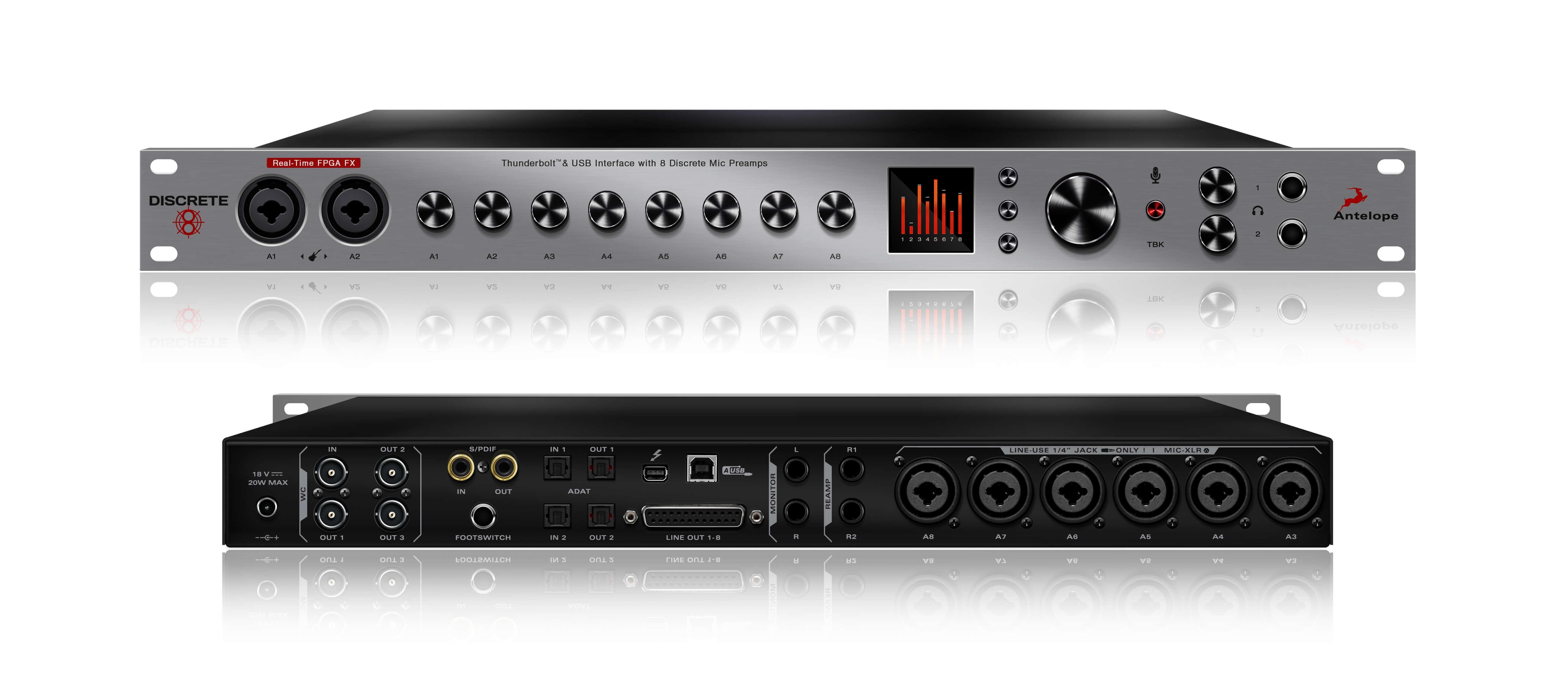 Antelope Audio Announces Discrete 8 Microphone Preamp