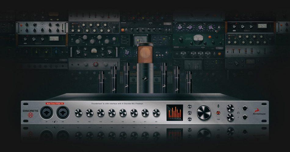 Antelope Audio Discrete8 Edge Verge6