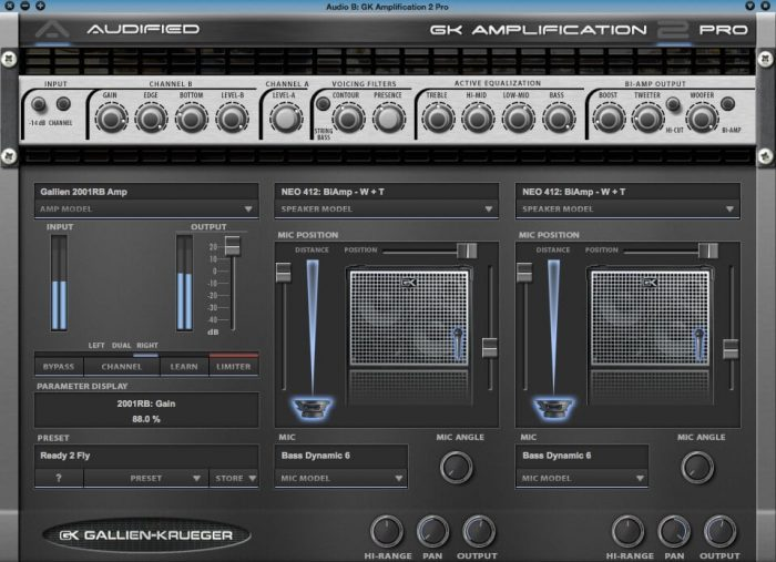 Audified GK Amplification 2