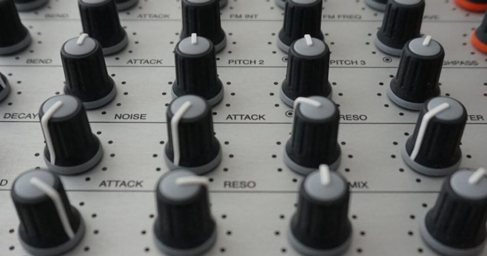 Audio Diggers Synthetic Drums feat