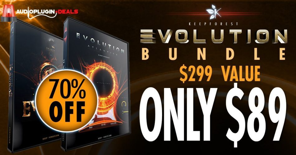 Audio Plugin Deals Keepforest Evolution Bundle