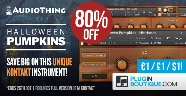 AudioThing Halloween Pumpkins 80 OFF