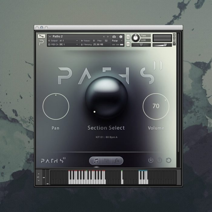 Audiomdern Paths 2 User Interface 1