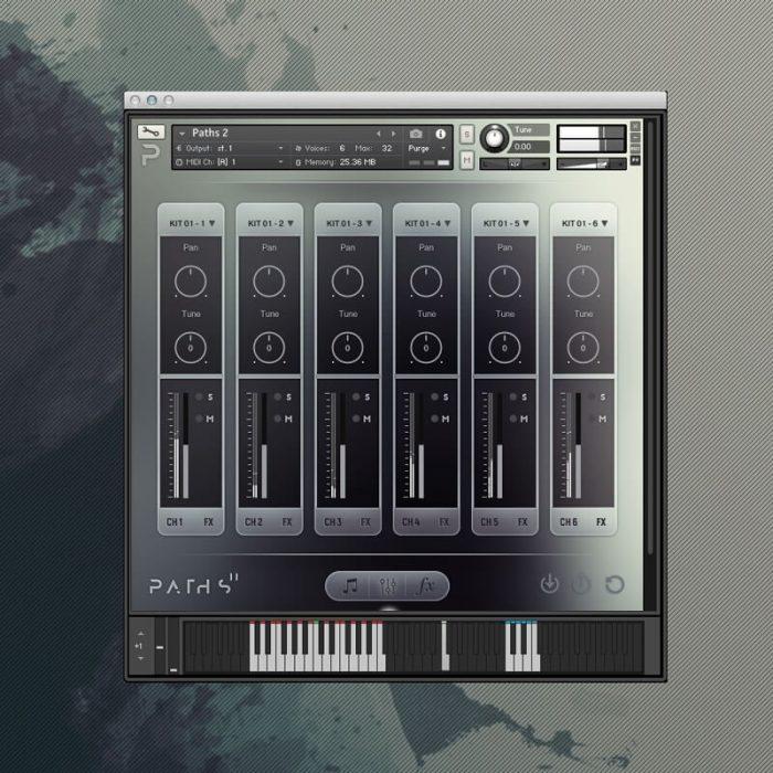 Audiomdern Paths 2 User Interface 2