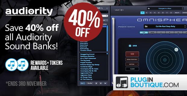 Audiority Soundbanks 40 off