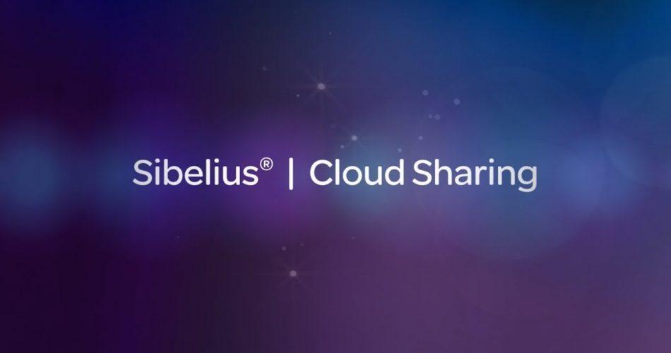 Avid Sibelius Cloud Sharing
