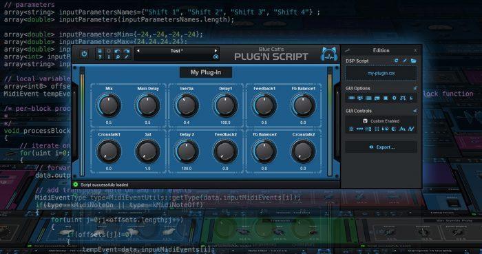 Blue Cat's Plug'n Script 3.0