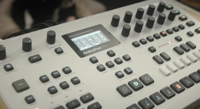 elektron analog four mkii analog synthesizer now shipping. Black Bedroom Furniture Sets. Home Design Ideas