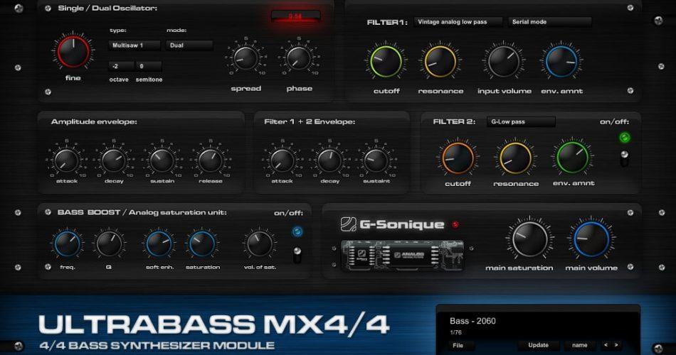 G Sonique UltrabassMX