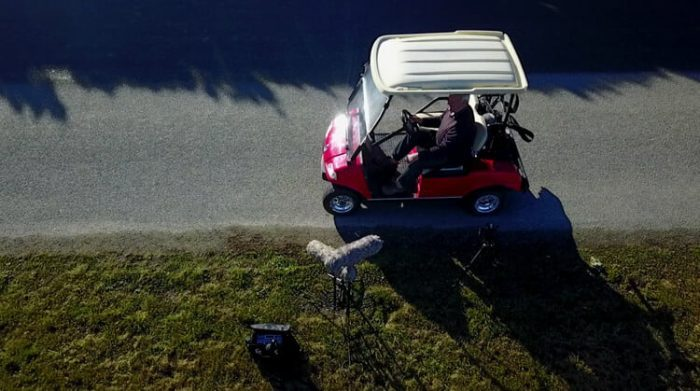 HISS and a ROAR Electric Golf Cart