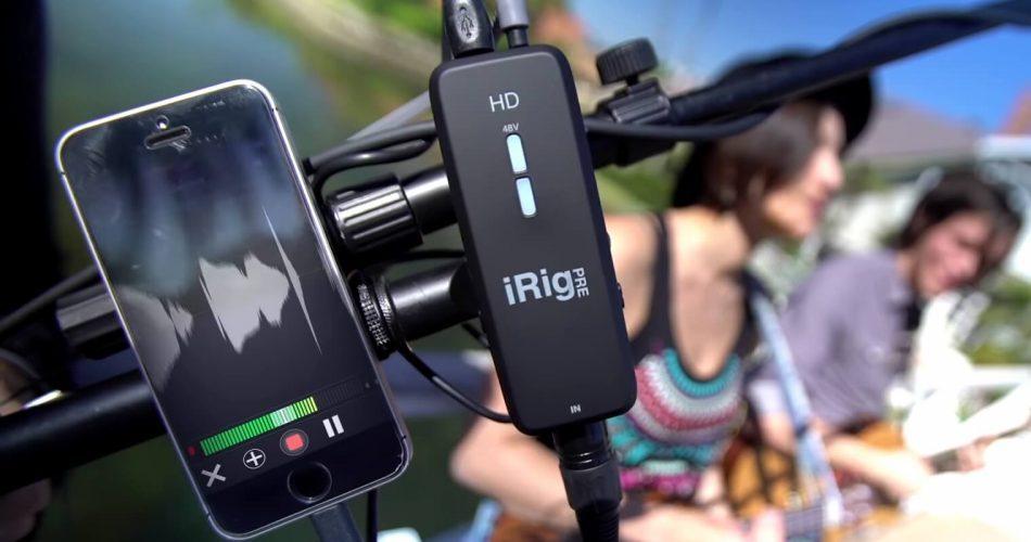 IK Multimedia iRig Pre HD feat