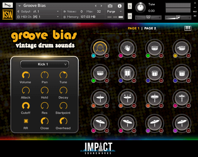 Impact Soundworks Groove Bias V2