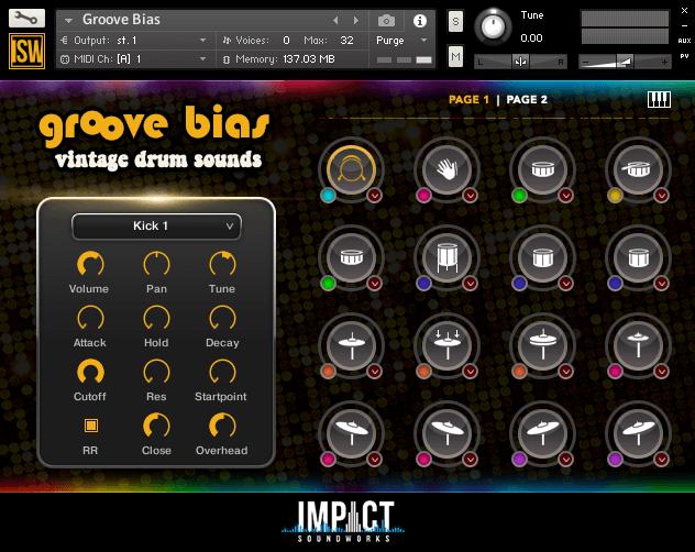 Impact Soundworks Groove Bias V2